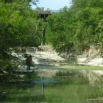 Shoal Creek Fly Fishing Austin | Beneath the old train tressle