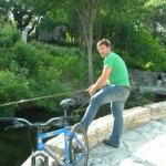 Waller Creek fly fishing