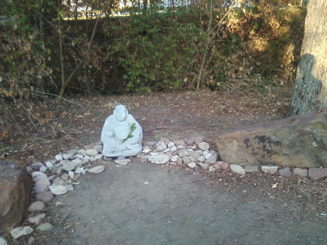 Buddha in the park