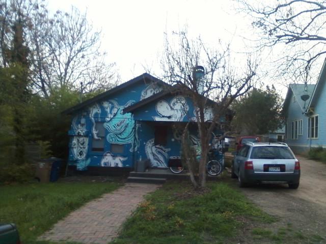 weird austin house