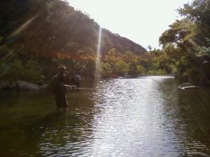 fly fishing lost creek