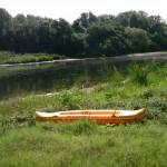 kayak on the colorado river