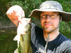 largemouth on the colorado river
