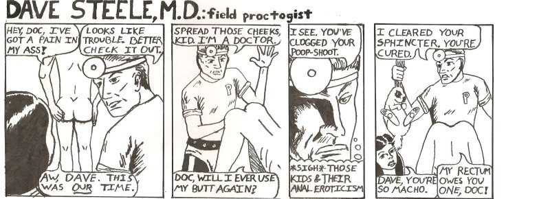 Dave Steele MD, field proctologist